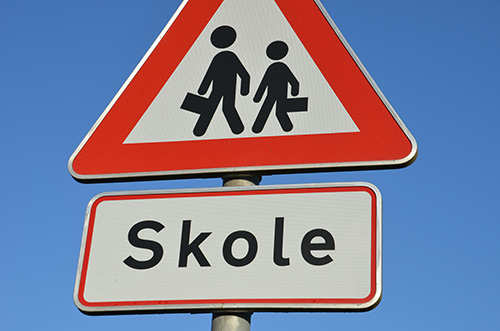 Træn børnene i trafikken og mindsk risikoen for trafikulykker