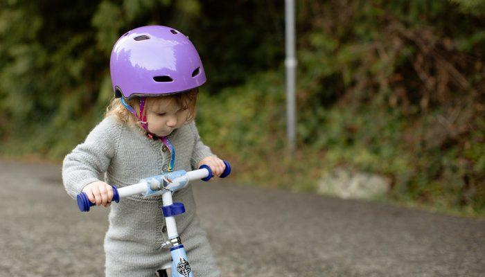 Cykelhjelmen mindsker skader ved trafikulykker